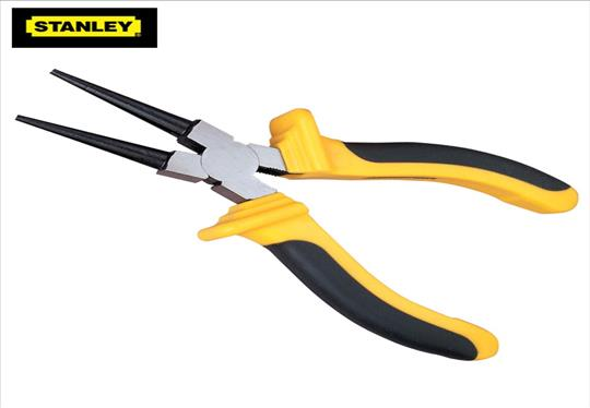 LOVIVER 11 90-Degree Tip Long Needle Nose Plier Hand Tools Curved Bent Nose Plier
